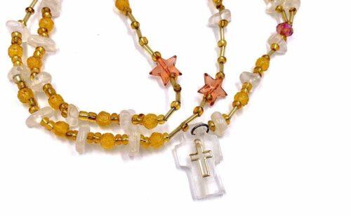 Imitation Quartz Rosaries from Mexico