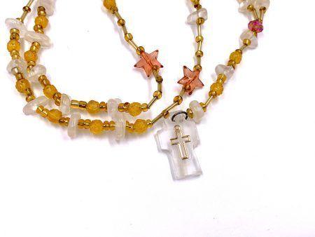 Imitation Quartz Rosary From Mexico