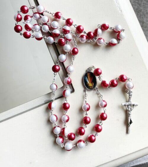 Saint Maria Faustyna Catholic Rosary