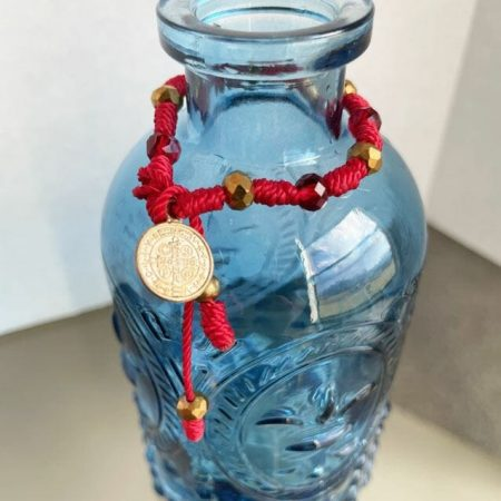 Saint Benedict Medal Mini String Rosary
