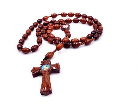 Shiny Mexican Marian Rosary