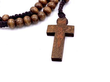 Rugged Wooden Rosaries