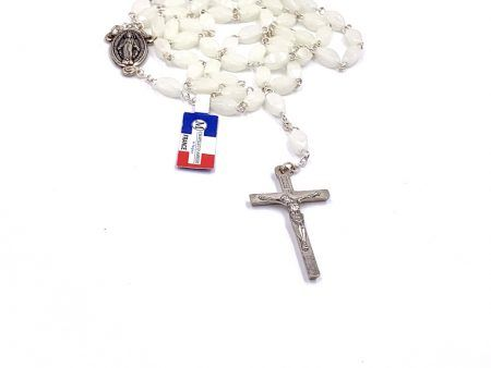 Glow in the Dark Lady of the Miraculous Medal Rosary