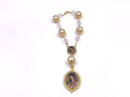 Crystal Beads Car Rosary for Mirror