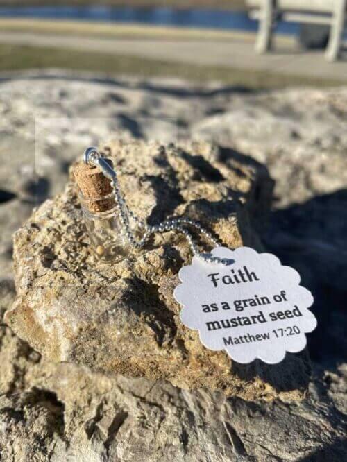 Mustard Seed Jewelry Pendant