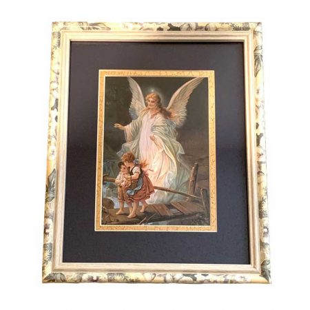 Vintage Guardian Angel Picture For Children