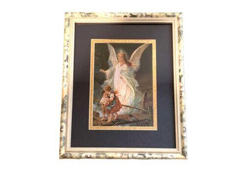 Vintage Guardian Angel Picture For Children