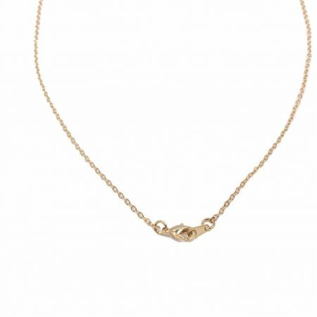 "18"" 16K Gold Plated Flat Necklace"