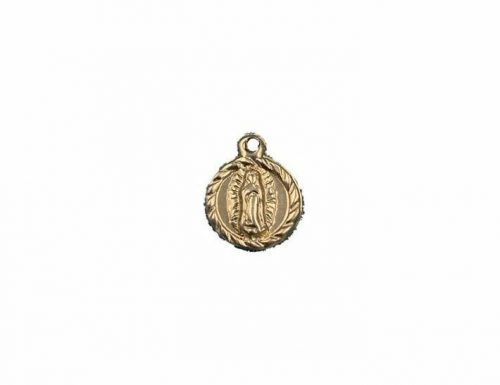 Guadalupe sterling silver or 14k gold filled charms