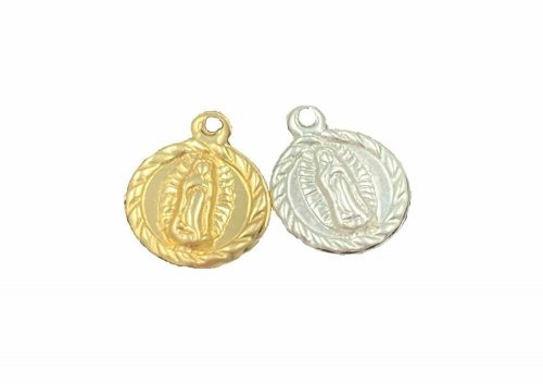 Lady of Guadalupe Charm Gold Filled or Sterling Silver