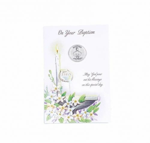 Baptism Greeting Card for Babies