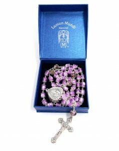 Fine Rosaries, Gold, Silver, Crystal