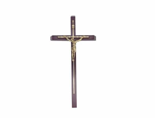 Premium Brass Crucifix Wall Hanging